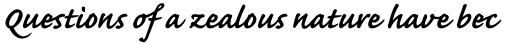Caflisch Script Pro Bold sample