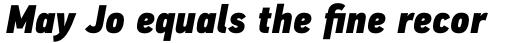 PF DIN Text Cond Pro ExtraBlack Italic sample