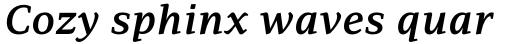 PF Adamant Pro SemiBold Italic sample
