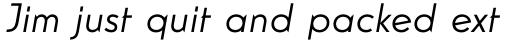 Guildford Pro Italic sample