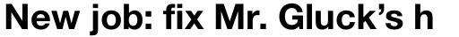 Neue Helvetica Pro Cyrillic 75 Bold sample