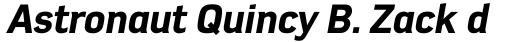 Azbuka Pro Heavy Italic sample