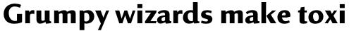 Linex Sans Std Bold sample