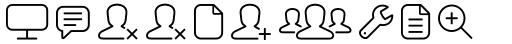 Panton Icons A Regular sample