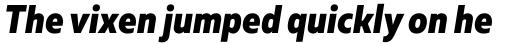 Muller Narrow ExtraBold Italic sample