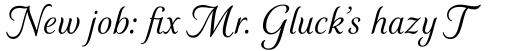 Elicit Script Variable Set sample