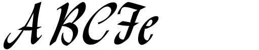 Monotype Lydian Std Cursive Sample