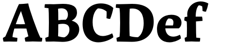 Servus Slab Bold Sample