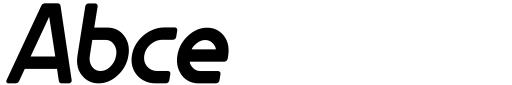 Gillca Heavy Italic Sample