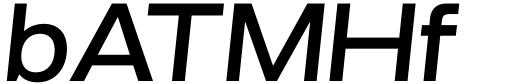 Grillmaster Wide Medium Italic Sample