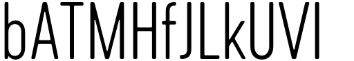 Cervo Neue Thin Sample