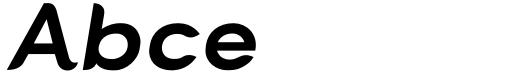 Cacko Italic Ultra Sample