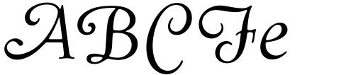 Goudy Swash Regular Italic Sample