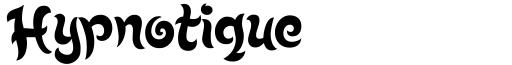 Hypnotique font