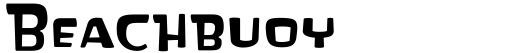 Beachbuoy font