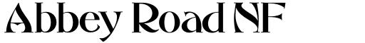 Abbey Road NF font