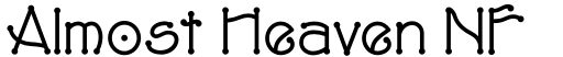 Almost Heaven NF font
