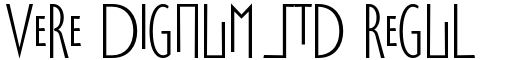Vere Dignum Std Regular Alternate font