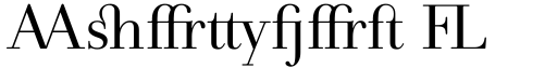 Andrade Ligatures font