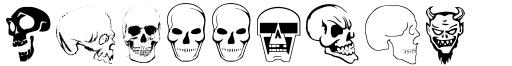 Skullbats™ font