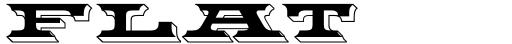 Flatrock™ font