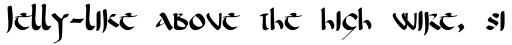 Corbei Uncial sample