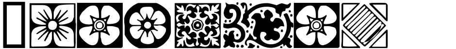 Click to view  Ornamental Borders font, character set and sample text