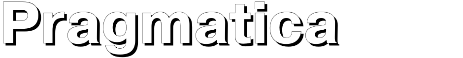 Click to view  Pragmatica font, character set and sample text