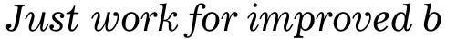 Corona Italic sample