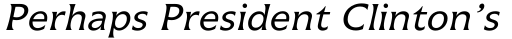 Icone 56 Regular Italic sample