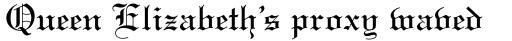 Linotext Regular sample