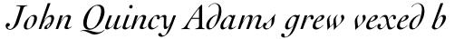 Cochin Std Italic sample