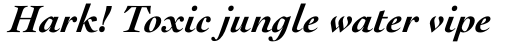Cochin Std Bold Italic sample
