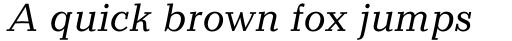 Candida Std Italic sample