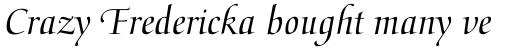 Medici Script sample