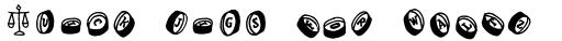 FF Handwriter Symbols sample