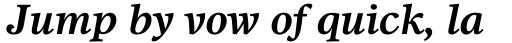 Dutch 811 Std Bold Italic sample