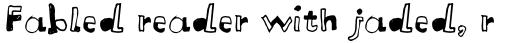 FF Letterine Std Regular sample