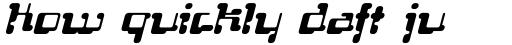 FF Localizer Serif Italic sample