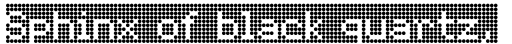 FF Dot Matrix Std Grid Regular sample