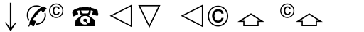 Linotype European Pi 4 sample