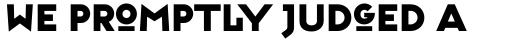 FF Typeface Six sample