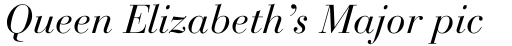 Bauer Bodoni Italic Oldstyle Figures sample