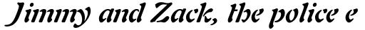 Auriol Bold Italic sample