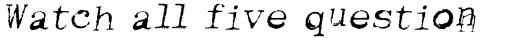 Keystoned Oblique sample