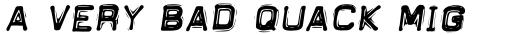 DimeOtype Bold Oblique sample