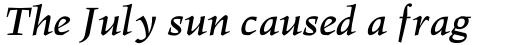Hawkhurst Std Bold Italic sample