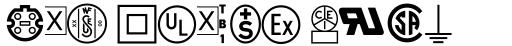 Linotype Technical Pi #1 sample