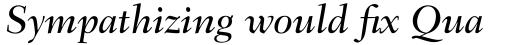 Fairfield Std 56 Medium Italic sample