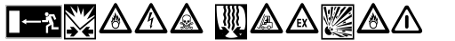 Linotype Warning Pi Regular sample